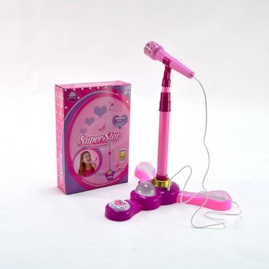 Microfon cu conectare la telefon SuperStar