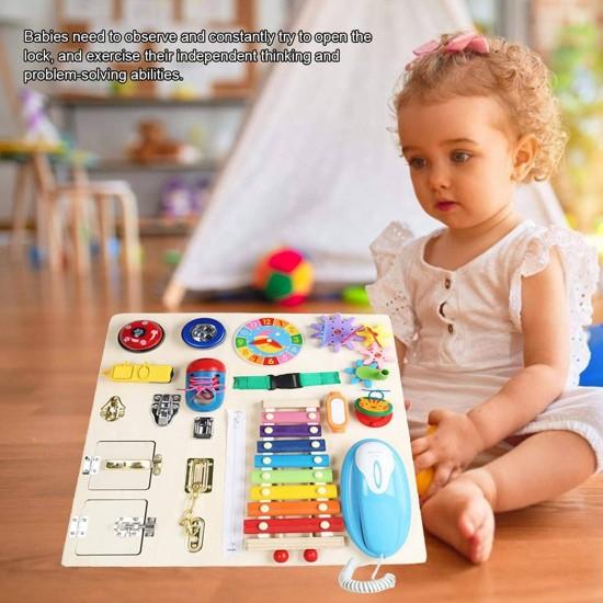 Placa cu activitati educative Montessori 2