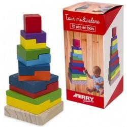 Turn de stivuire din lemn - Forma patrata