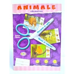 Animale salbatice decupez si aplic